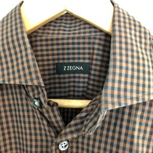 Z Zegna men's sport shirt